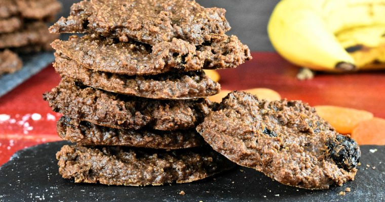 Healthy Banana Oatmeal Cookies Without Sugar