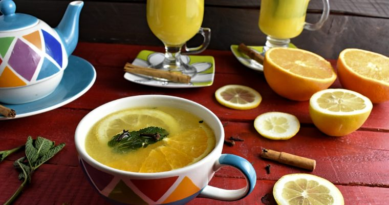 Healthy Tea for The Cold Winter Afternoons