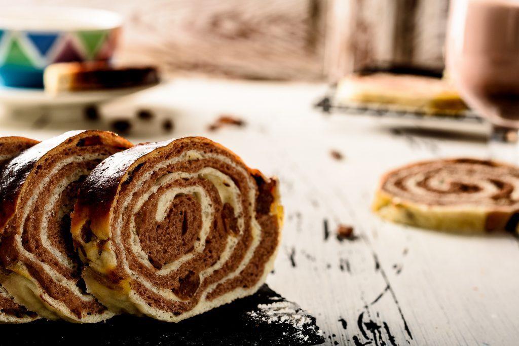 Chocolate Swirl Bread - SunCakeMom