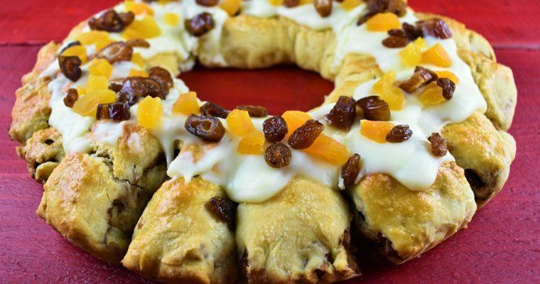 Three Kings Cake A.K.A. Roscon de Reyes
