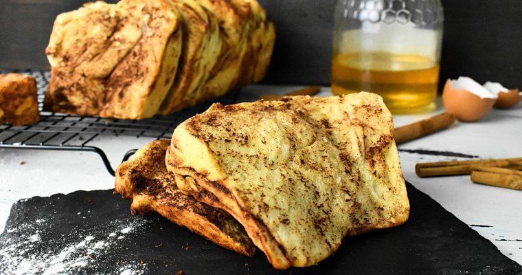 Sugar Free Cinnamon Pull-Apart Bread