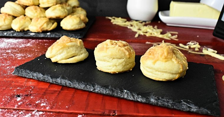 Light and Fluffy Cheese Scone Recipe
