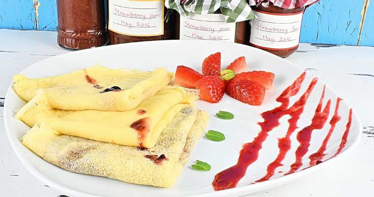 Homemade Sugar Free Crepes Recipe