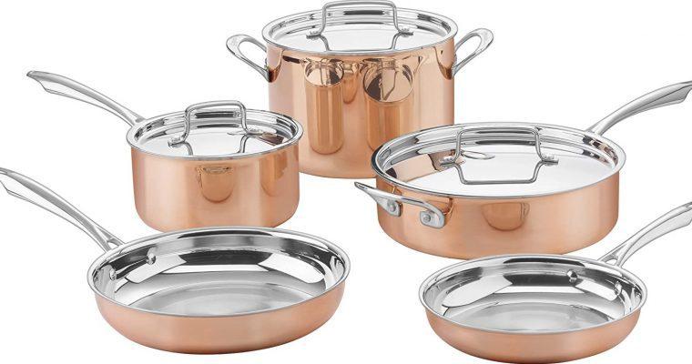 The Best Value Copper Cookware Set – Cuisinart CTP-11AM Copper Review