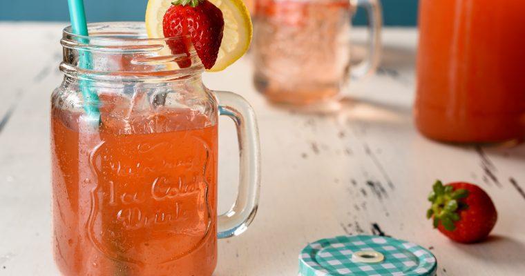 Homemade StrawberryLemonade Recipe