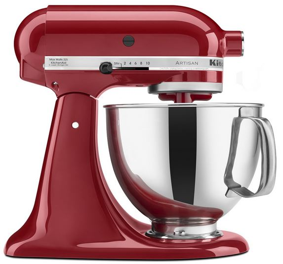 The Best Stand Mixer - KitchenAid-ksm150ps-5qt-artisan review-suncakemom