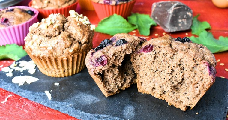 Sugar, Dairy and Gluten Free Muffin Recipe with Almonds