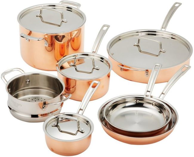 The Best Copper Cookware Set – Cuisinart CTP-11AM Copper Review