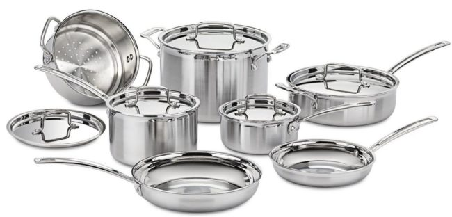 The Best Value Stainless Steel Cookware Set – Cuisinart MCP-12N Multiclad Review