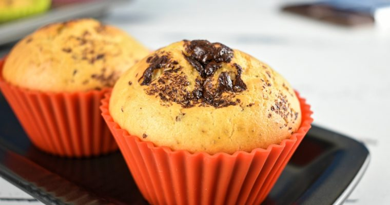 Low Carb Muffins with Chocolate Chips