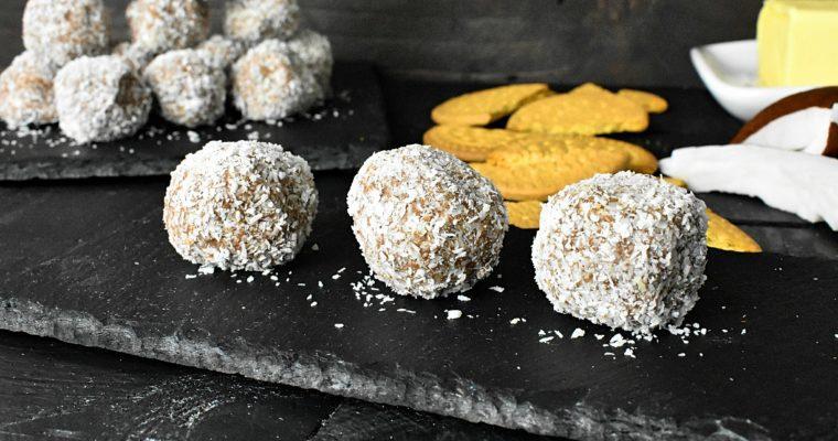 Simple Sugar Free No Bake Coconut Balls Recipe