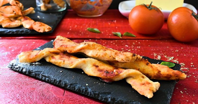 Twisted Pizza Breadsticks Recipe
