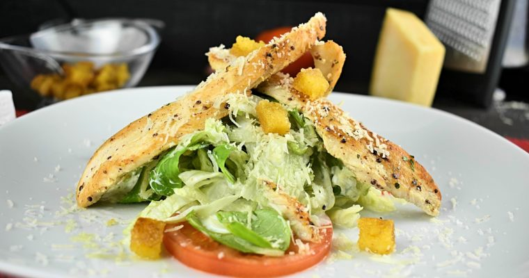 Easy & Fast Chicken Caesar Salad Recipe