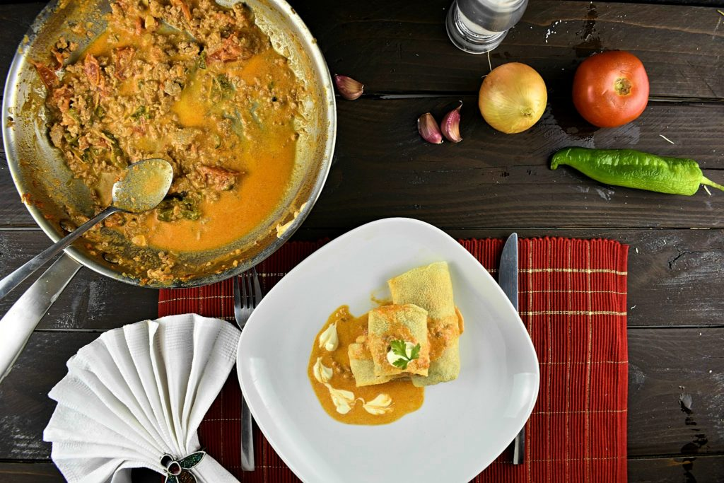 Healthy-savory-crepe-recipe-with-meat-filling-2-SunCakeMom