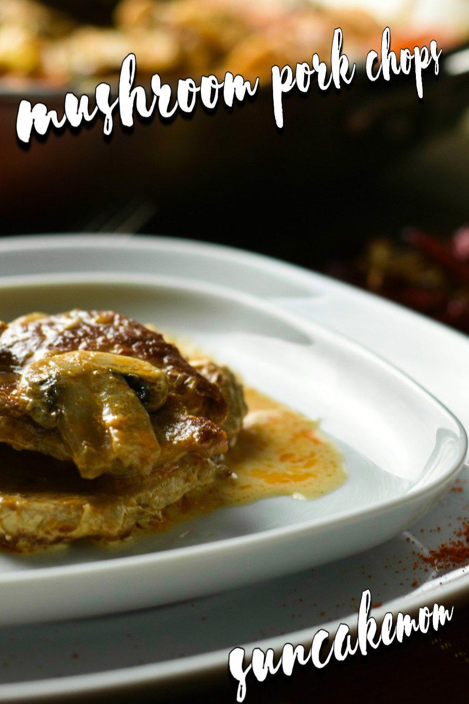 Creamy-mushroom-pork-chop-recipe-Pinterest-SunCakeMom