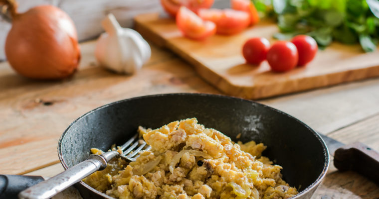 Delicious Scrambled Eggs and Brains Recipe
