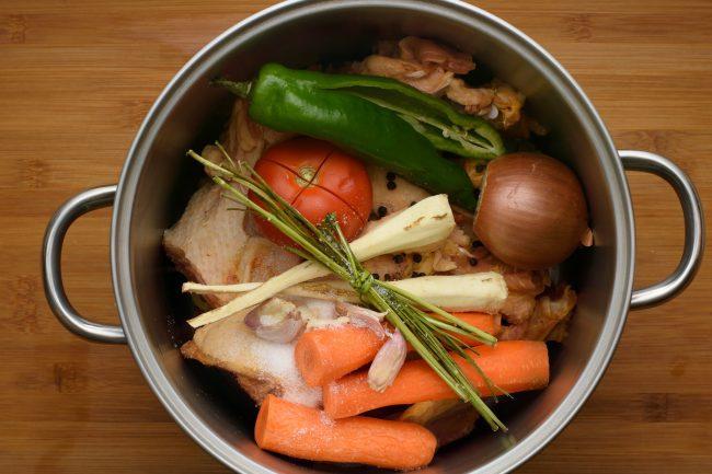 Chicken soup recipe - SunCakeMom