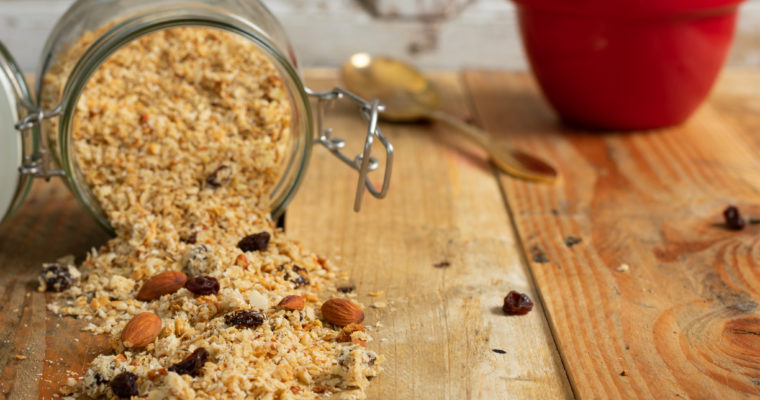 Sugar Free Healthy Granola Recipe
