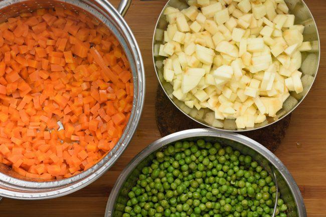 Steamed vegetables - SunCakeMom
