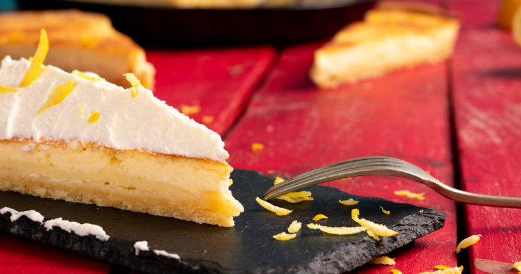 Healthy Lemon Tart Recipe