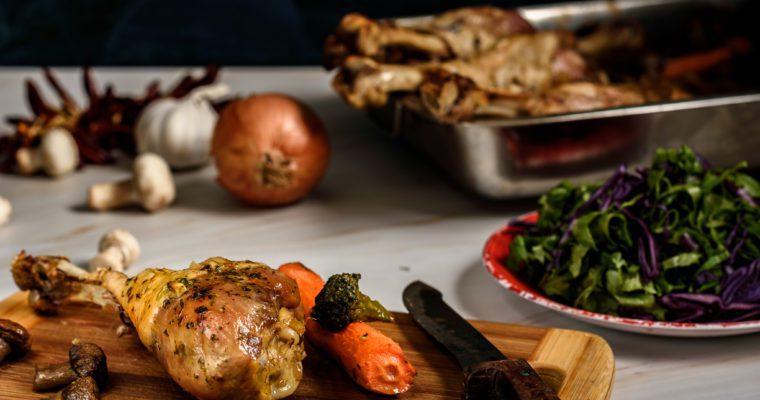 Roast Turkey Leg Recipe