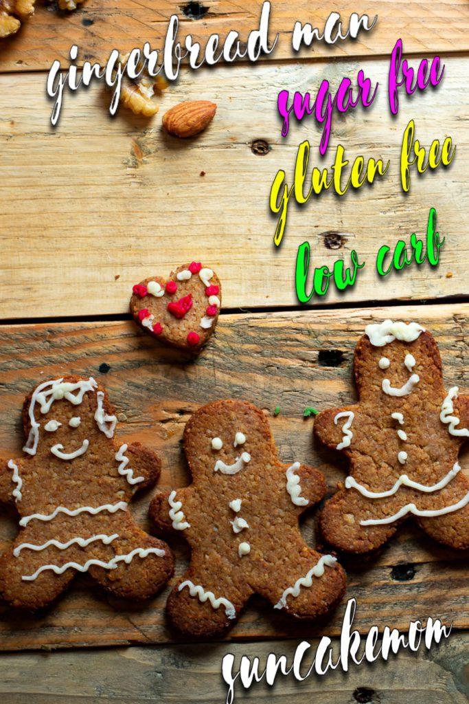 Gluten Free Gingerbread-Keto-Pinterest-SunCakeMom