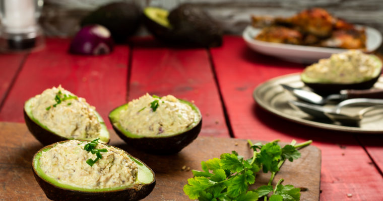 Chicken Stuffed Avocados Recipe