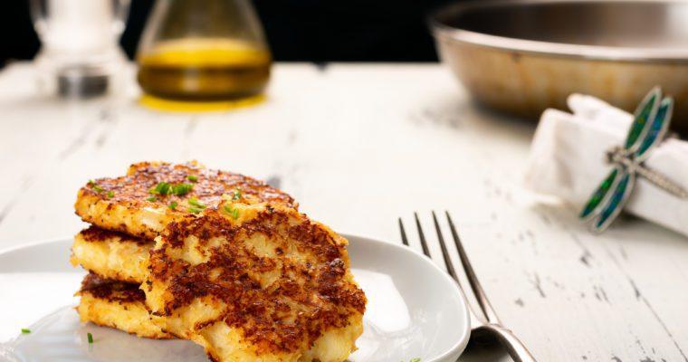 Cauliflower Hash Browns – Cauliflower Fritters Recipe