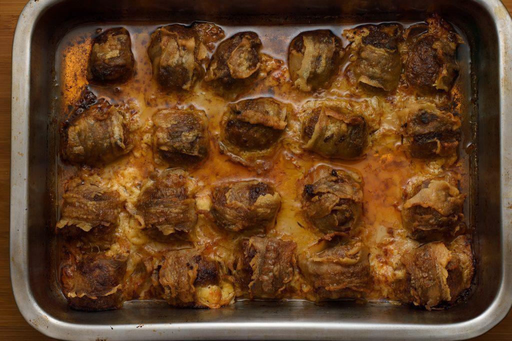 Bacon wrapped meatballs - SunCakeMom