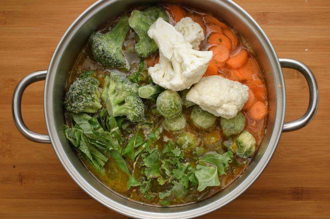 Vegetables soup SunCakeMom