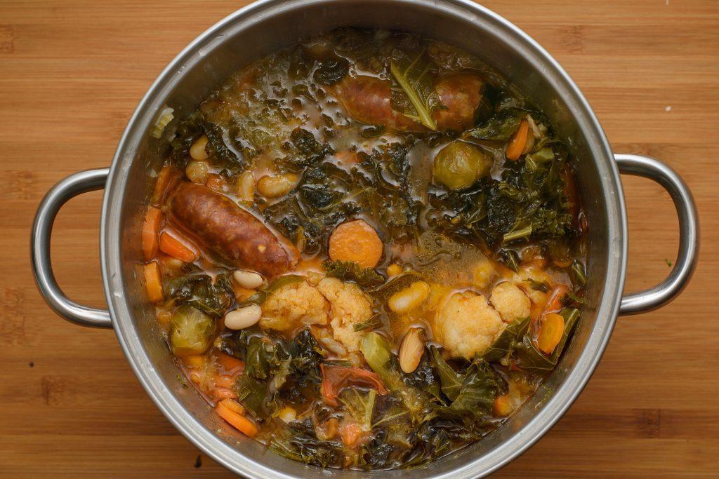 Sausage kale soup - SunCakeMom