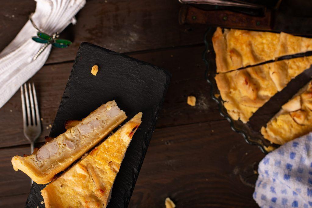Chicken quiche recipe - SunCakeMom