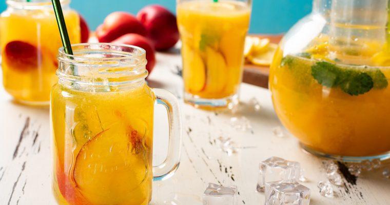 Peach Lemonade & Peach Drinks
