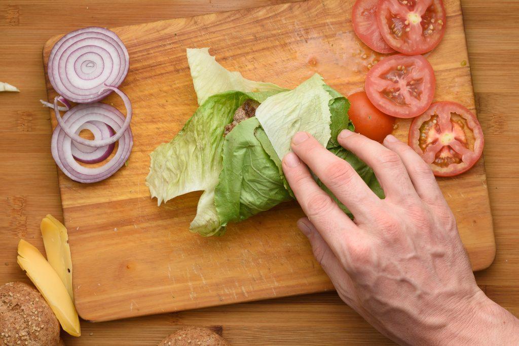 Keto hamburger recipe - SunCakeMom