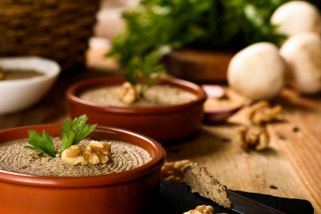 Mushroom pate recipe - SunCakeMom