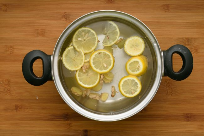 Ginger tea recipe - SunCakeMom
