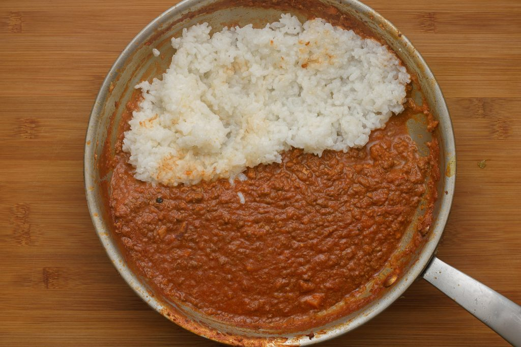 Bolognese tomato sauce rice-gp-SunCakeMom