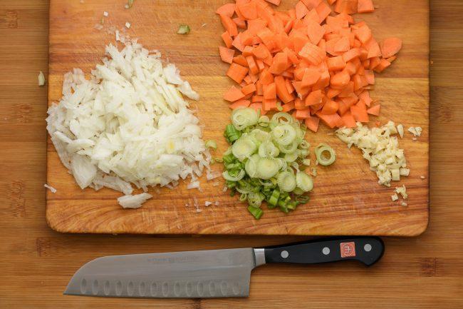 Cauliflower chicken fried rice recipe - SunCakeMom