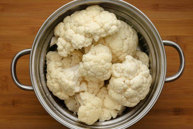 Cauliflower mash - SunCakeMom
