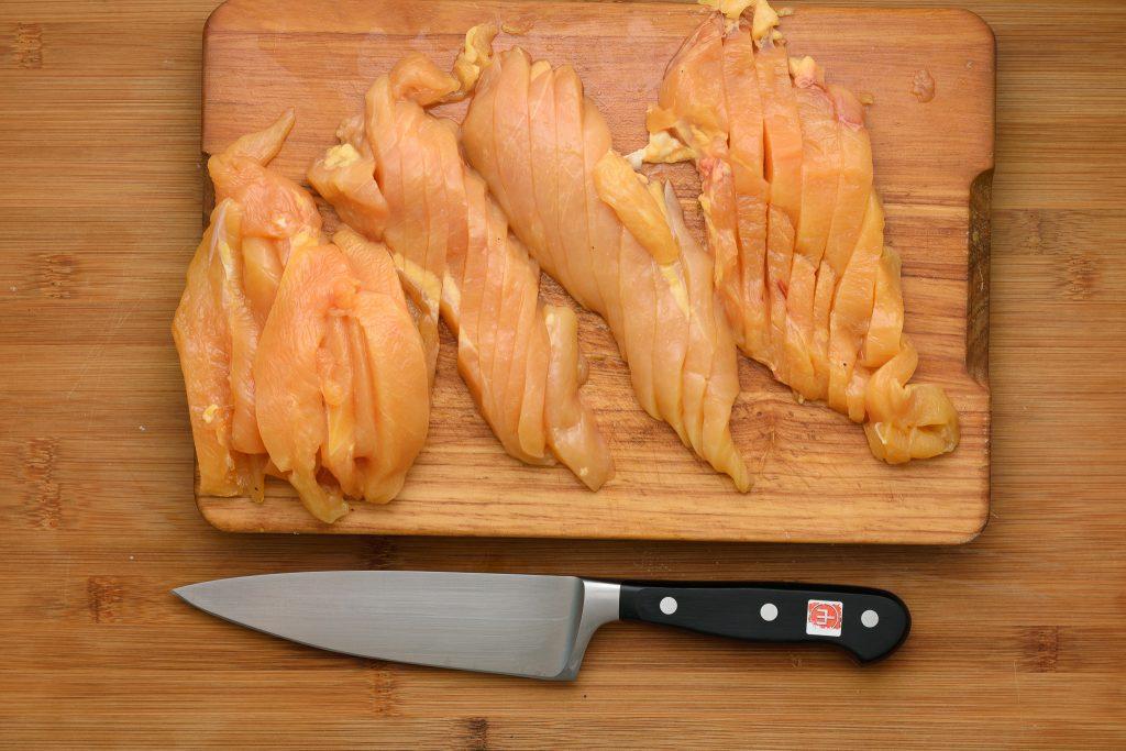 Chicken breast sliced - gp - SunCakeMom