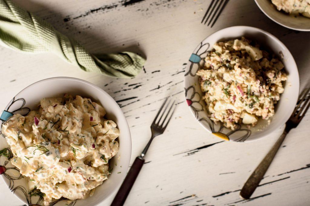 Cauliflower potato salad recipe - SunCakeMom