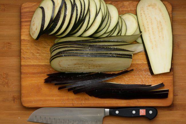 Slice eggplant salt -gp- SunCakeMom