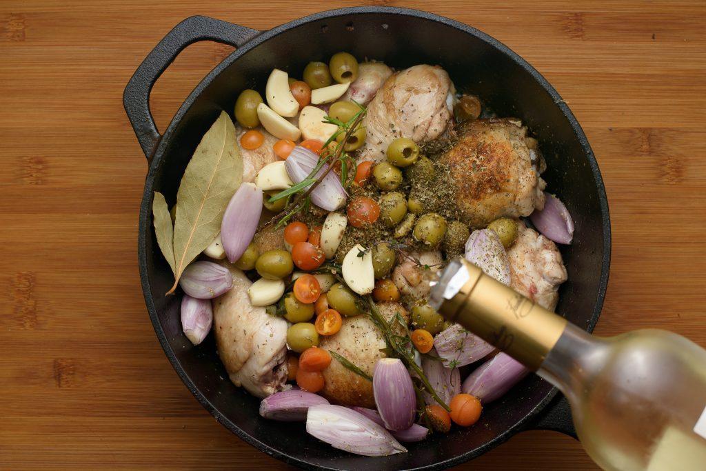 Chicken Provençal Recipe - SunCakeMom