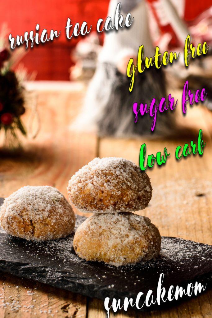 Russian-tea-cake-recipe-keto-Pinterest-SunCakeMom
