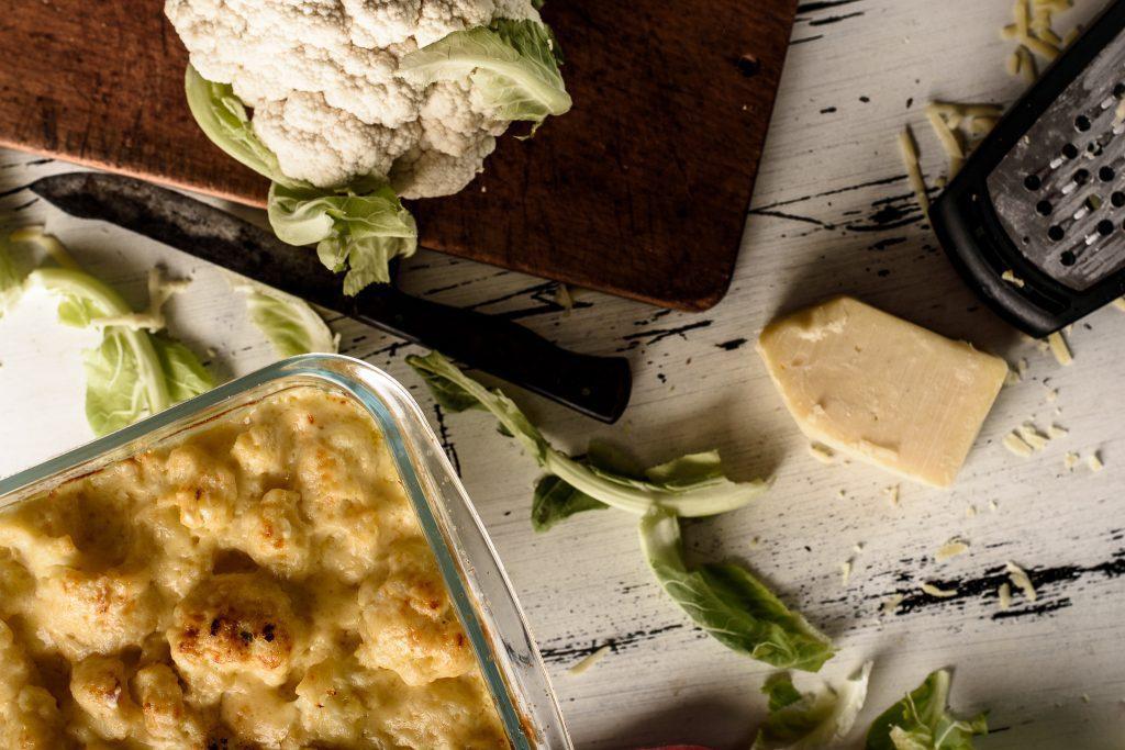 Cauliflower cheese - SunCakeMom