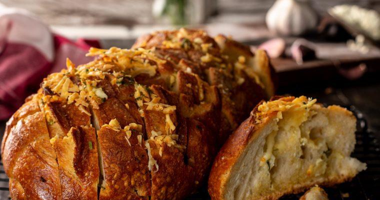 Pull Apart Garlic Bread Recipe