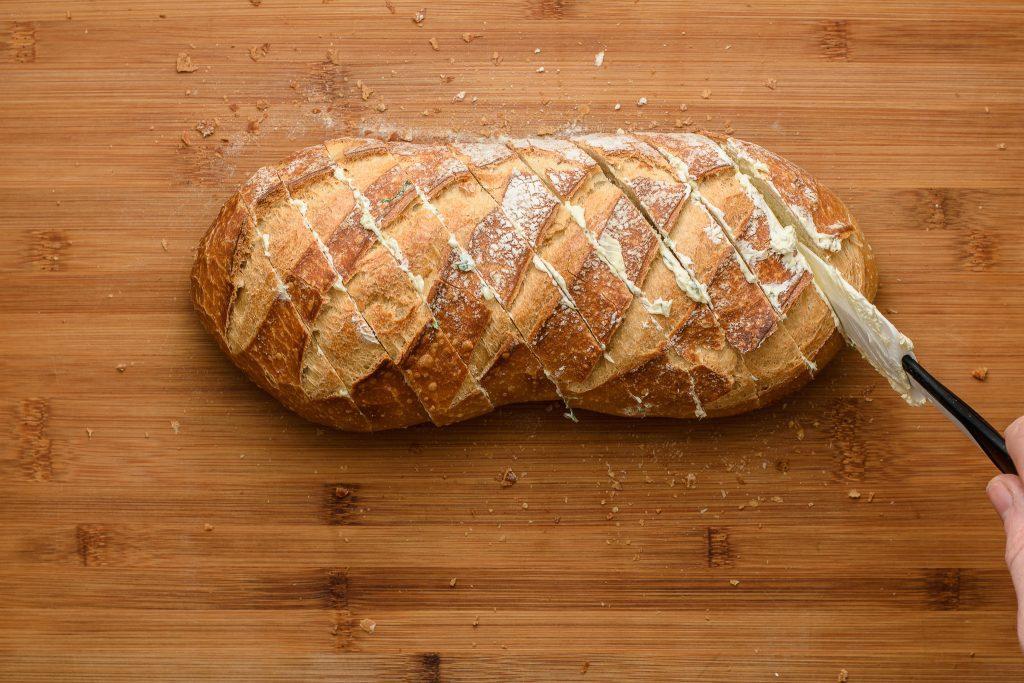 Garlic bread recipe - SunCakeMom