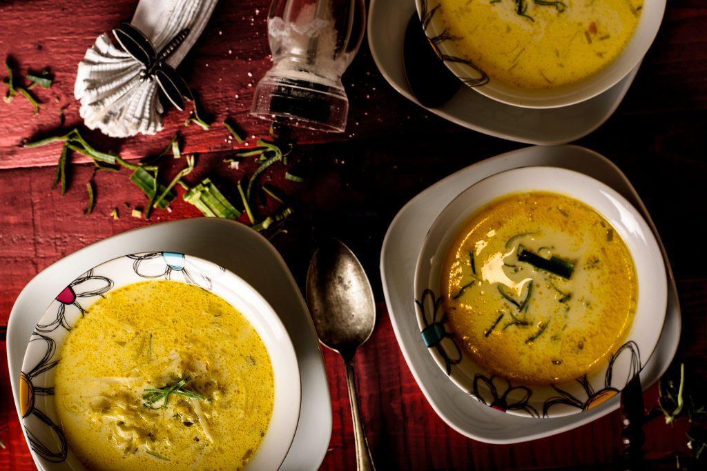 Leek soup recipe - SunCakeMom