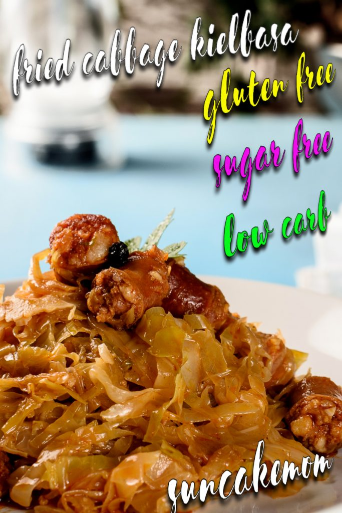 Fried-cabbage-sausage-kielbasa-Pinterest-SunCakeMom