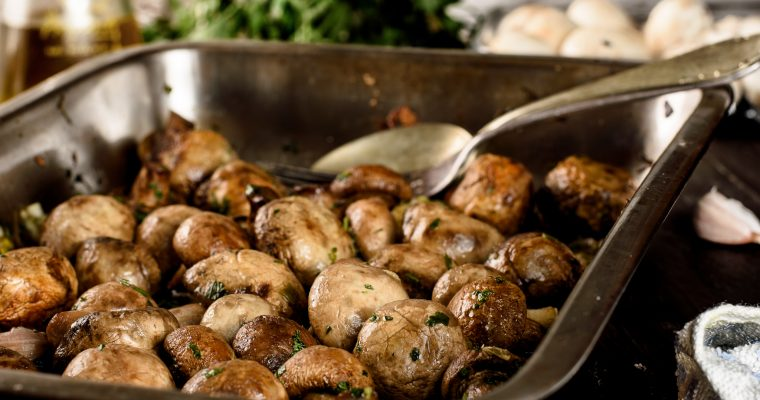 Roasted Mushrooms Recipe